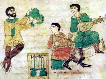 Manuskript Monte Cassino ca 1028